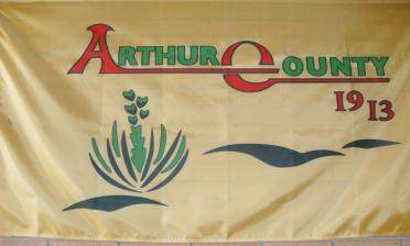 Arthur County Flag